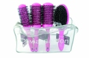 Olivia Garden Thermal Brush Pink Display
