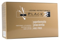 Black Panthenol & Placenta Hair Lotion 10ml - vlasové ampule