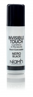 Niamh Hairkoncept Invisible Touch Root Concealer Black 75 ml - korektor na vlasy čierny