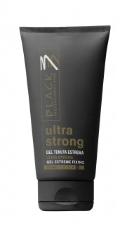 Black Gel Ultra Strong 150ml - gél na vlasy