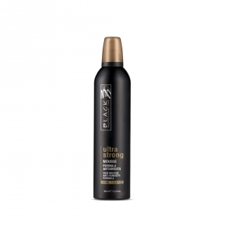 Black Ultra Strong Mousse 400ml - penové tužidlo na vlasy