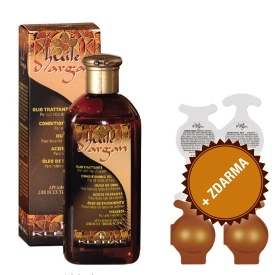 Kléral Huile d´Argan Conditioning Oil For All Type Of Hair 150 ml 1 + 3 ZDARMA - arganový olej na vlasy