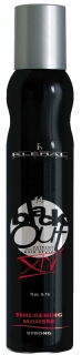 Kléral Black Out Thickening Mousse Strong XIV 200 ml - penové tužidlo na vlasy